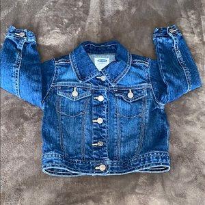 Old navy girls blue Jean jacket